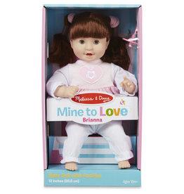 "Melissa & Doug Mine to Love - Brianna 12"" Doll"