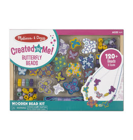 Melissa & Doug Created by Me! Butterfly Beads Wooden Bead Kit