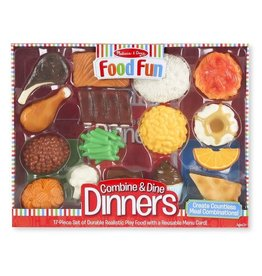 Melissa & Doug Food Fun - Combine & Dine Dinners (Red)