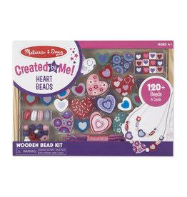 Melissa & Doug Created by Me! Heart Beads Wooden Bead Kit