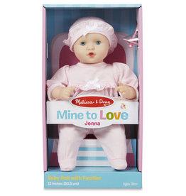 """Melissa & Doug Mine to Love Jenna 12"""" Baby Doll"""