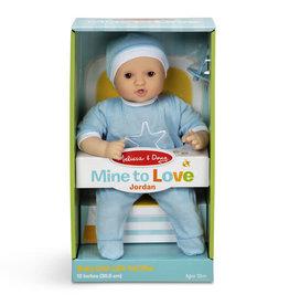 Melissa & Doug Mine to Love Jordan 12-Inch Baby Doll