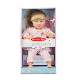 "Melissa & Doug Mine to Love - Natalie 12"" Doll"