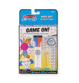 Melissa & Doug On the Go - Write-On / Wipe-Off Activity Games Pad