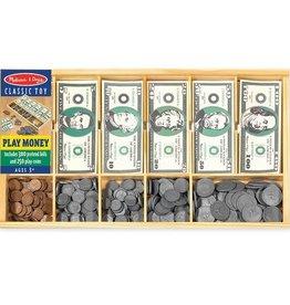 Melissa & Doug Classic Play Money Set