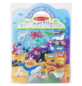 Melissa & Doug Puffy Sticker Play Set - Ocean