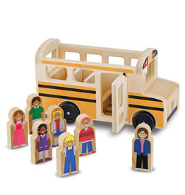 Melissa & Doug Wooden Classic School Bus