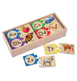 Melissa & Doug Self-Correcting A-Z Letter Puzzles