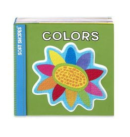 Melissa & Doug Soft Shapes Book - Colors