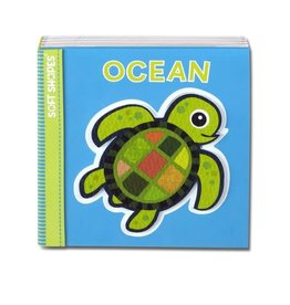 Melissa & Doug Soft Shapes Book - Ocean