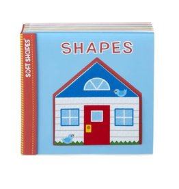 Melissa & Doug Soft Shapes Book - Shapes
