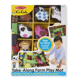 Melissa & Doug Take-Along Farm Play Mat