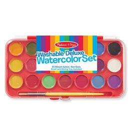 Melissa & Doug Washable Deluxe Watercolor Set