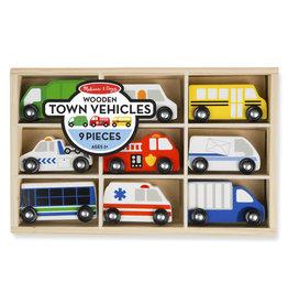 Melissa & Doug Wooden Town Vehicles
