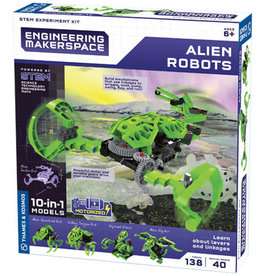 Engineering Makerspace Alien Robots