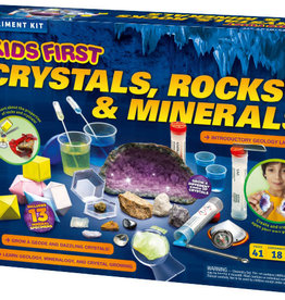 Kids First Kids First: Crystals, Rocks, and Minerals Kit