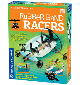 Geek & Co - Sci Rubber Band Racers