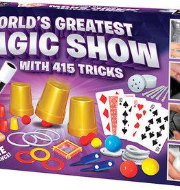 Thames & Kosmos World's Greatest Magic Show (with 415 Tricks)