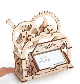 Ugears Mechanical Box. (Card holder)