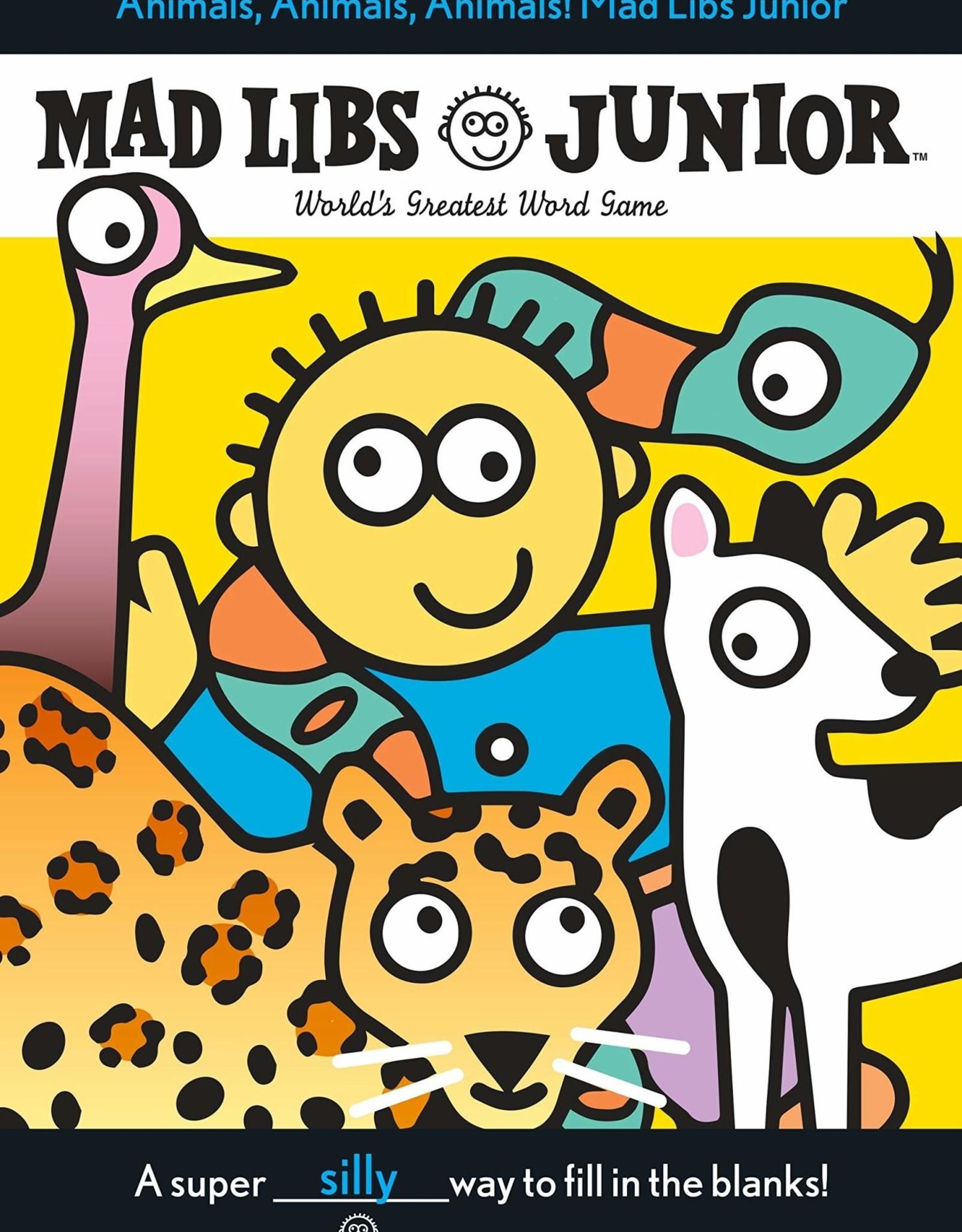 Mad Libs Animals! Animals! Animals! Mad Libs Junior