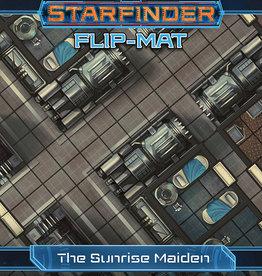 Paizo Starfinder RPG: Flip-Mat Starship: The Sunrise Maiden