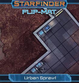Paizo Starfinder RPG: Flip-Mat Urban Sprawl