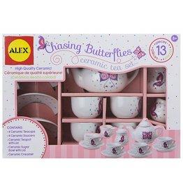 Alex Chasing Butterflies Ceramic Tea Set