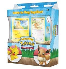 Pokemon Co. Int. Pokemon: Let's Play Pikachu & Eevee Theme Deck