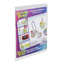 Shrinky Dinks Frosted White Creative Pack Shrinky Dinks