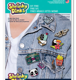 Shrinky Dinks DIY Pins Project Pack Shrinky Dinks