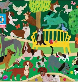 Eeboo Dogs at Play 100 pc puzzle