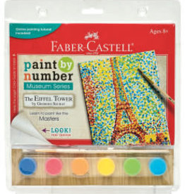 Faber-Castell Paint By Number Museum Series-The Eiffel Tower