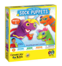 Faber-Castell Make Your Own Sock Puppets