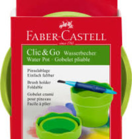 Faber-Castell Clic & Go Collapsible Water Cup - Green
