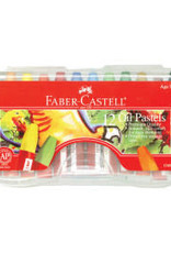 Faber-Castell 12 Oil Pastels in Storage Case
