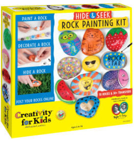 Faber-Castell Hide & Seek Rock Painting Kit