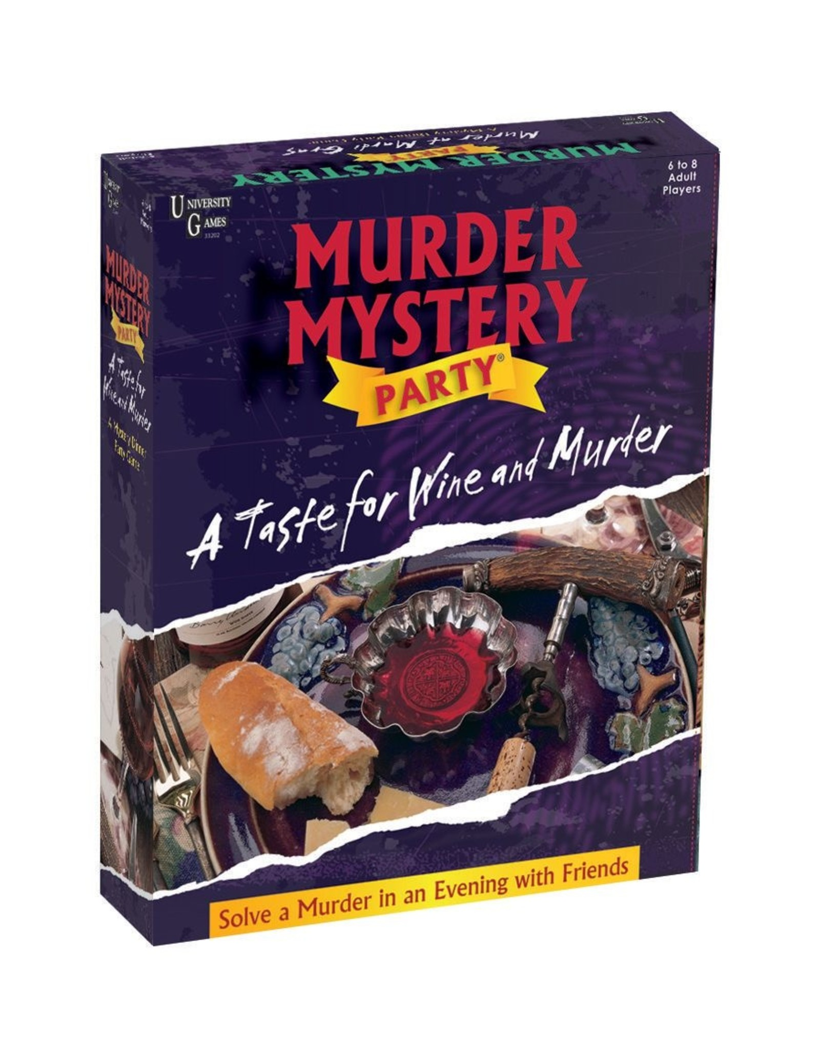University Games Murder Mystery Party: A Taste for Wine and Murder