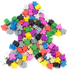 Brybelly Assorted Color Meeples
