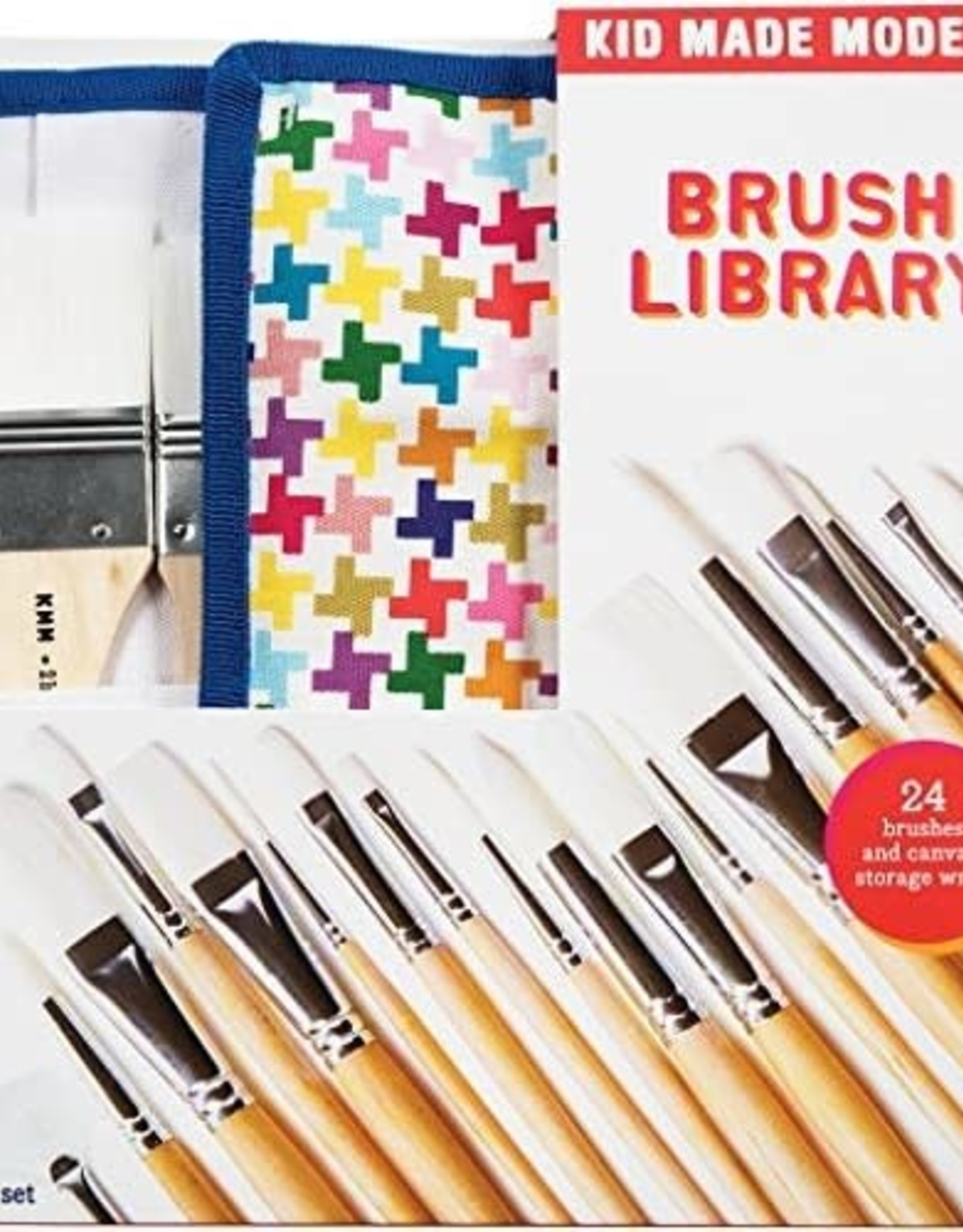 Kid Made Modern Brush Library (24ct)