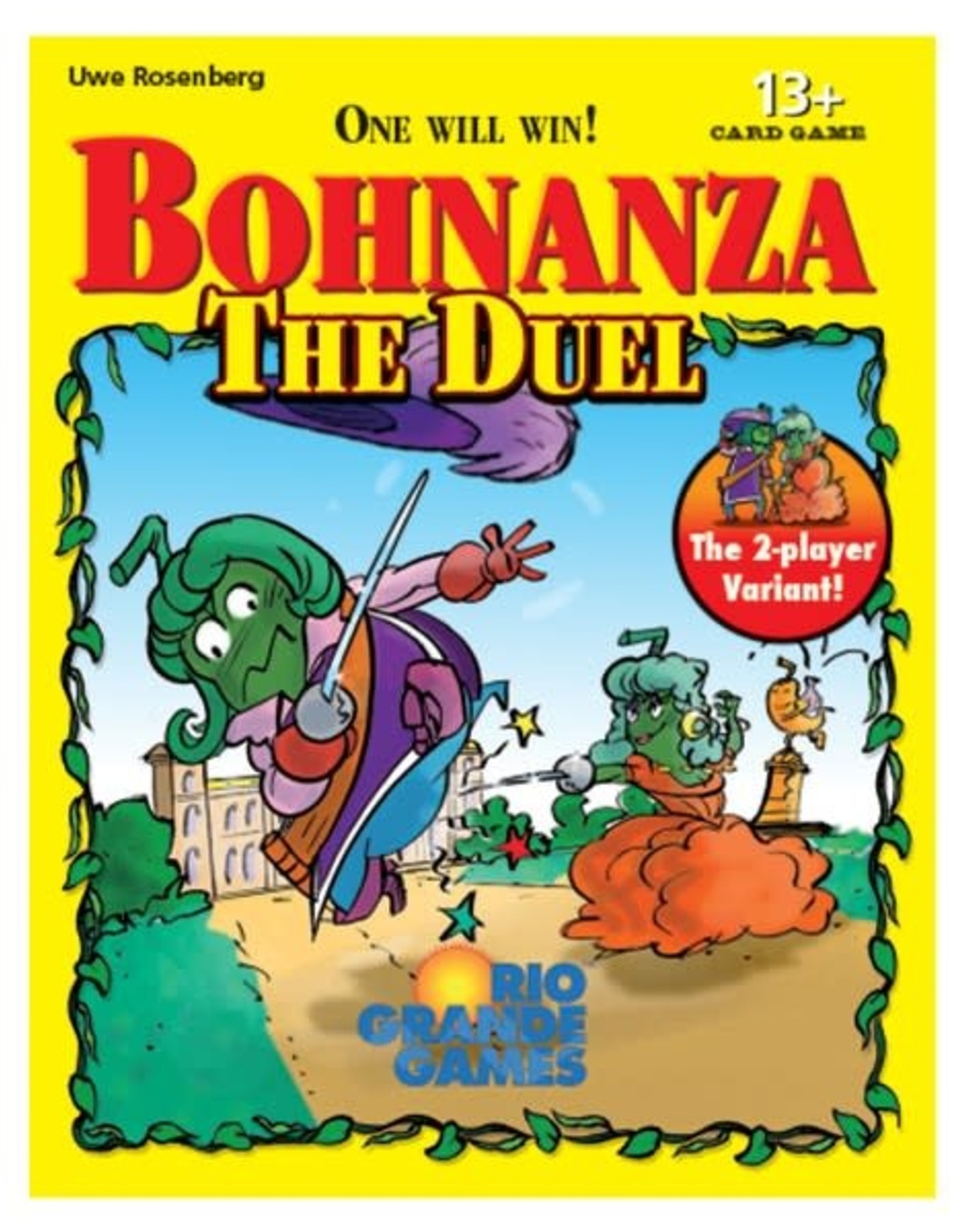 Rio Grande Games Bohnanza: The Duel