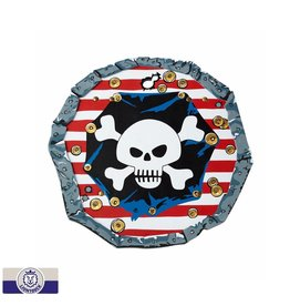 Liontouch Red Stripe Pirate Shield