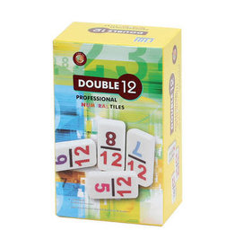 CHH Games Double 12 Numeral Tile Dominos