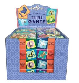 Eeboo Miniature Matching Games Assorted