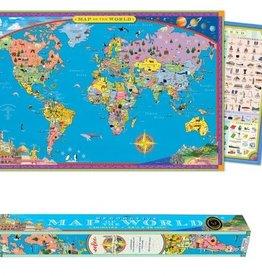 Eeboo World Map Poster