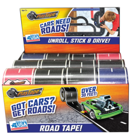 Toysmith 2 Inch Asphalt Road Tape - Assorted Colors