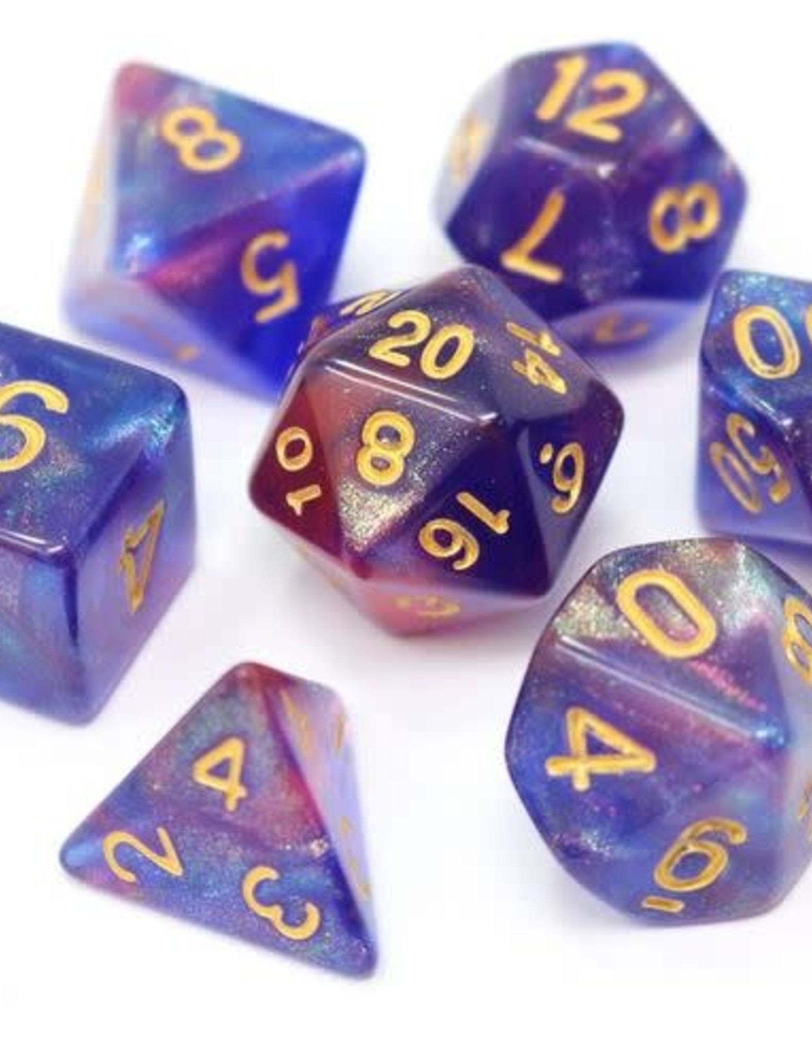 Die Hard Blue Enchantress Poly 7 Dice Set