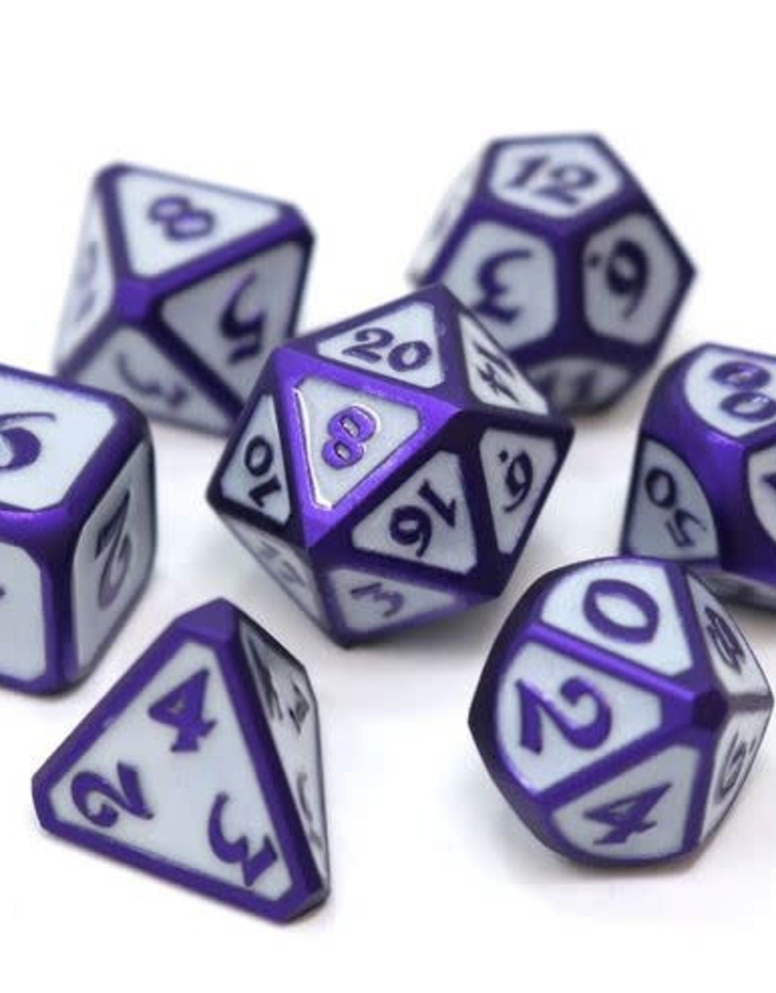 Die Hard Celestial Harbinger Poly 7 Metal Dice Set