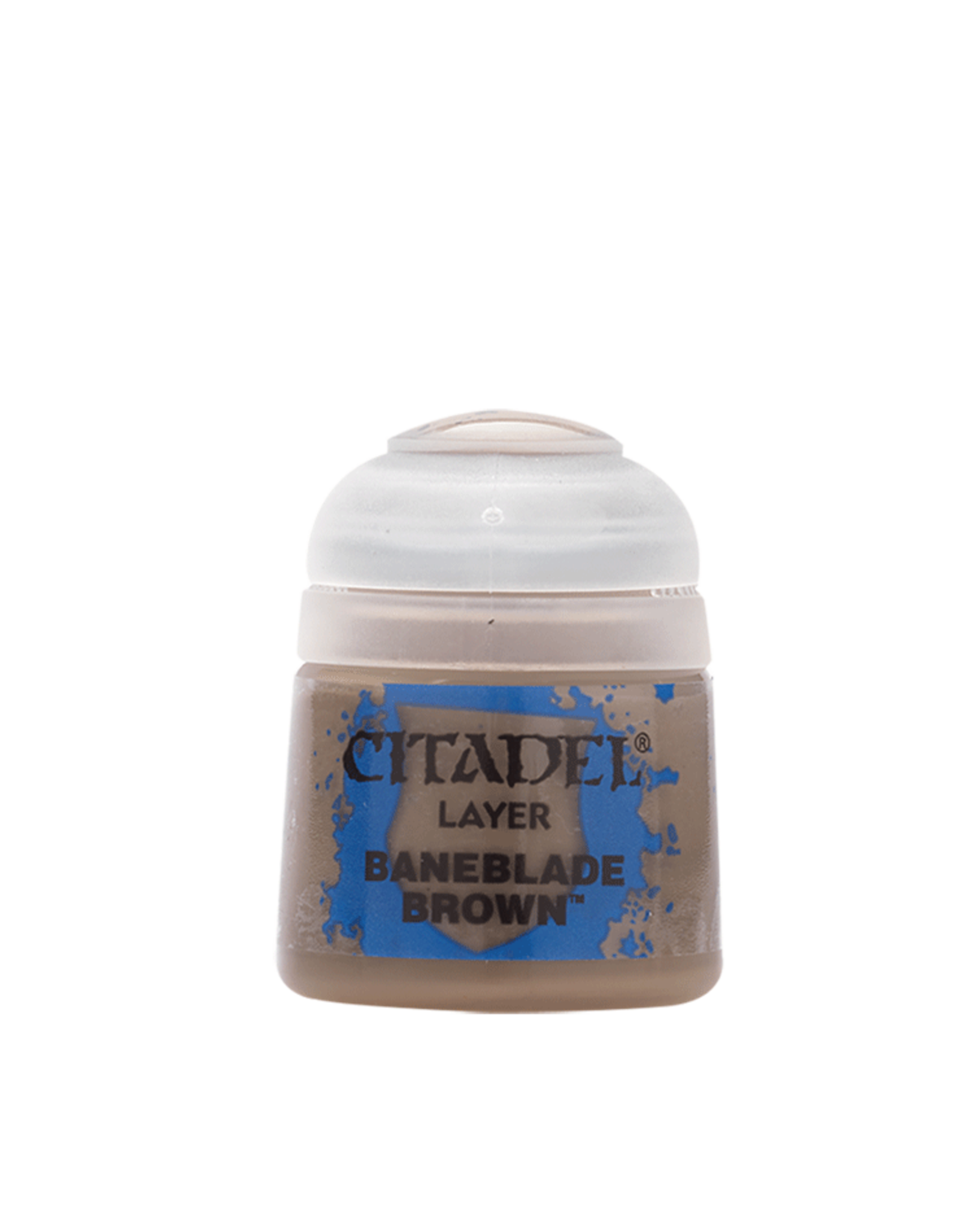 Games Workshop Baneblade Brown paint pot