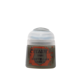 Games Workshop Castellan Green paint pot