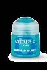 Games Workshop Ahriman Blue paint pot